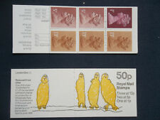 Fb48 London Zoo 50P Stamp Booklet Birds Umfb42c