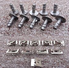 JAGUAR ENGINE UNDERTRAY CLIPS SPLASHGUARD SHIELD BOTTOM COVER FASTENER