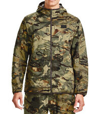 Under Armour UA Brow Tine Scent Control Forest 2.0 Camo 3xl Hooded Hunt Jacket