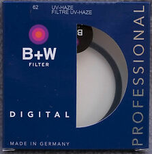 B+W  62mm UV-Haze Camera Filter Made in Germany Professional #70127
