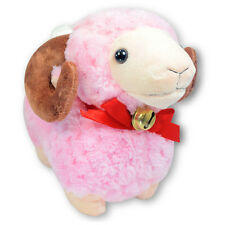 "6"" Pink Baby Ram Bighorn Sheep Stuffed Animal Soft Plush Toy Suction Cup New"