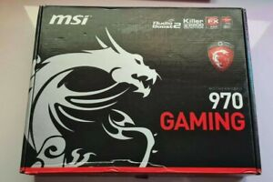 MSI 970 Gaming Motherboard - AM3+ - DDR3 - ATX - backplate - user manual - disc