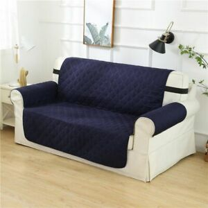 Quilted Sofa Cover Slipcover Waterproof Couch Pet Kid Pad Mat Protector Antislip