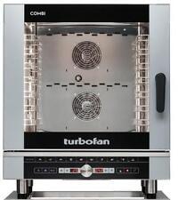 Turbofan EC40D7 Electric Combi Oven 7x1/1 GN Pan or 7 x 600x400mm Tray Capacity