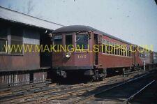 2 orig.slides: Philadelphia vintage Brill built in 1925 trolley cars, 1959-1960