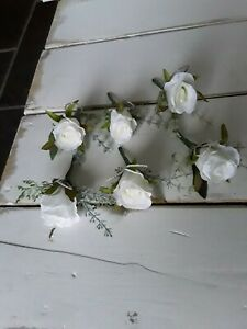 Artificial  flower corsage / ladies buttonhole / wedding flowers / her corsage /