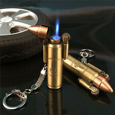 Bullet Model Flint Lighter Jet Torch Flame Windproof Lighter Cool Design Rare