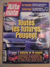 action AUTO MOTO n°67 /MAI 2000 ARNAQUE COMPTEURS ELECTRONIQUES. LA CYBERVOITURE