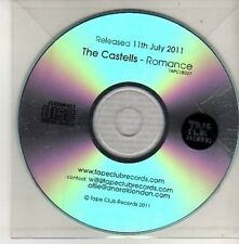 (CU485) The Castells, Romance - 2011 DJ CD