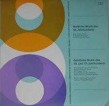 SCHWEIZER KOMPONISTEN CTS 31 Weltliche Musik des 16. & Geistliche des 1^6. & 17.