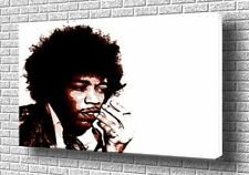 "Jimmy Hendrix.. Pop Art Retro Caja De Lona De 20 ""x30"""