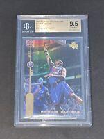 1998 Upper Deck Encore Gold F/X Vince Carter /1000 BGS 9.5 POP 5 RC Rookie