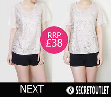 Polyester Party Regular Size Tops & Shirts NEXT for Women