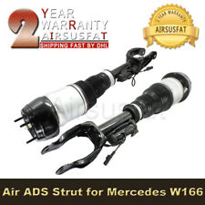 2pcs Front R+L Air Suspension Strut Shock with ADS For Mercedes W166 X166 ML GL