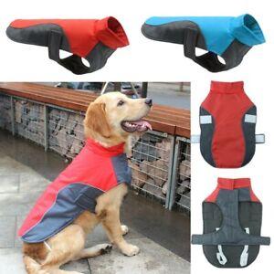 Waterproof Warm Dog Coat Clothes Padded Vest Pet Jacket Medium/ Large Winter N