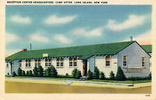 RECEPTION CENTER HEADQUARTERS, CAMP UPTON, LONG ISLAND, NEW YORK. WWII. ARMY.