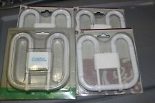 3 GE 2D 4-Pin 2700K  2D 21-Watt CFL Compact Fluorescent Bulb lot