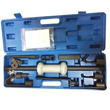 13pc Dent Puller Set Heavy Duty Steel Slide Hammer Puller Garage Car Tools