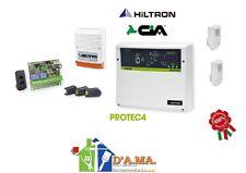 Kit antifurto centrale 4 zone+accessori kprotec4 hiltron sicurezza allarme casa