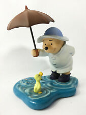 "Disney Pooh & Friends  ""We'll Share Forever Whatever the Weather"" Figurine 14cm"