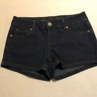 Wax Jeans Dark Blue Denim Shorts, size Small, New without tags