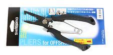 Shimano CT-561P Split Ring Pliers Offshore Straight 185x50x16 mm Bk 462725