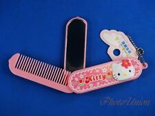 Mini Mirror + Comb Hello Kitty Make Up Kit Ornament Decoration for Kid K1316 A