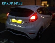 FORD FIESTA MK7 LED BRIGHT WHITE Number Plate Light BULBS CANBUS Error free ST
