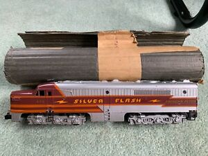 American Flyer #479 Silver Flash PA diesel engine w/original wrap runs 1955 only