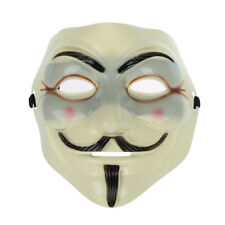 10pcs Cosplay Halloween Guy Fawkes V for Vendetta Anonymous Resin Adult MAS T2z7