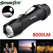 10000LM Q5 LED AA/14500 3 Mode Zoomable Super Bright Flashlight MINI Torch Lamp