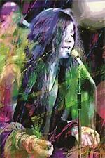 24 x 36 791 GUITAR MASTER STEVIE RAY VAUGHN DAVID LLOYD GLOVER ART POSTER