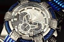 Invicta 25766 52mm perno Cronógrafo de cuarzo brazalete acero inoxidable reloj