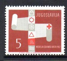 YUGOSLAVIA MNH 1962 SG1042 OBLIGATORY TAX - RED CROSS