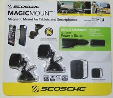 Magnetic Mounting System for Smartphones and Tablets. SCOSCHE MAGIC MOUNT
