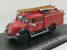 Atlas Editions Classic Fire Engines 1/72 Scale Magirus-Deutz Mercur