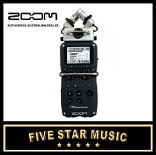 ZOOM H5 HANDY PORTABLE RECORDER 4 TRACK DIGITAL with CONDENSER MICROPHONES - NEW