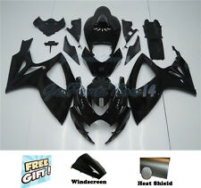 Fit for 2006-2007 Suzuki GSXR 600 750 Fairing Kit Injection Bodywork Black k03