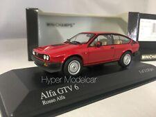 MINICHAMPS 1/43 Alfa Romeo GTV6 1983 Red Art. 400120140