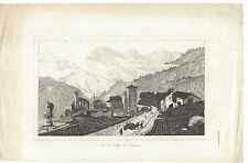 Originaldrucke (1800-1899) aus Schweiz mit Stahlstich