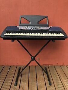 Yamaha Electronic Keyboard Black PSR340 61 Note Touch Sensitive Portable Working