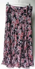 Style&Co Macy's Print Lined Skirt 100% Rayon Zipper Closure New With Tags 20 W