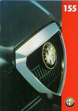 ALFA ROMEO 155 WIDEBODY 1996/1997 mercato britannico opuscolo 1.8 2.0 TWIN SPARK SUPER