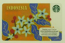 "Starbucks Card 2014 Indonesia ""Batik"""