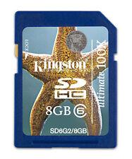 Kingston 8GB SDHC Speicherkarte