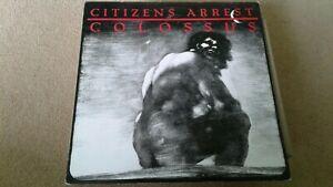 Citizens Arrest - Colossus LP. Hardcore Punk. sXe. NYHC. Rorschach. KBD. BOLD.