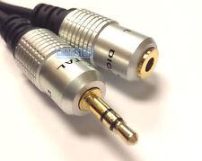 Pro corto 0.5 M OFC 3.5 mm Estéreo Mini auriculares Jack Cable de extensión plomo de audio