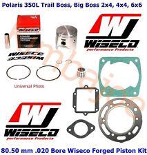 Polaris 350L Trail Big Boss ATV 80.50 mm .020 Bore Wiseco Piston Bearing Gasket