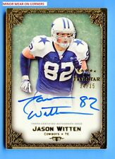 JASON WITTEN - 2010 TOPPS FIVE STAR VETERAN AUTO GOLD S# 34/35