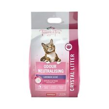 Trouble and Trix Angel Silica Crystal Cat Litter Pink 7litre